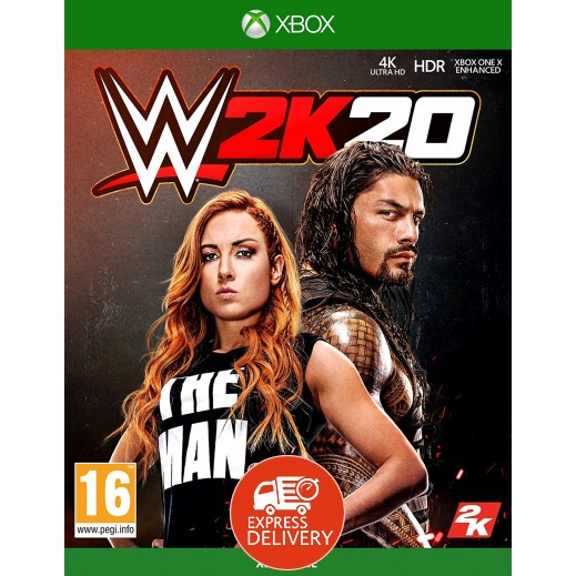 لعبة WWE 2K20 لجهاز اكس بوكس وان – نظام PAL ( عربى)