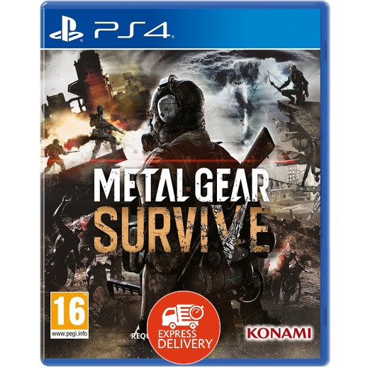 لعبة Metal Gear Survive لبلاي ستيشن 4 – نظام PAL
