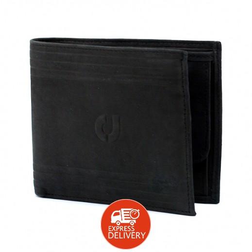 تشارلز جوردان – محفظة جلدية رجالية JLM716  – أسود