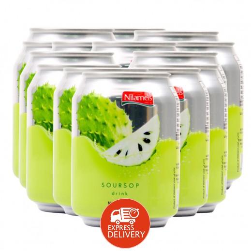 "نيلاميلز -  شراب الجرافيولا ""سورسوب"" 24 × 250 مل"