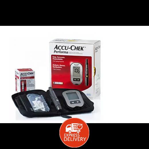 7e1342dd1 اشتري أكيوتشيك بيرفورما – جهاز قياس نسبة السكر في الدم + 50 شريط ...