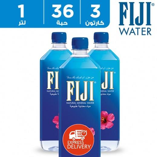 فيجي – مياه معدنية طبيعية 1 لتر (36 × 1 لتر) – أسعار الجملة
