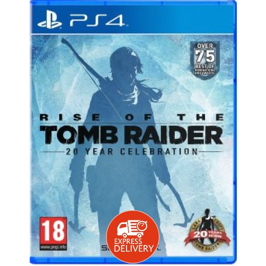 لعبة RISE OF THE TOMB RAIDER: 20 YEAR CELEBRATION لجهاز PS4 نظام PAL