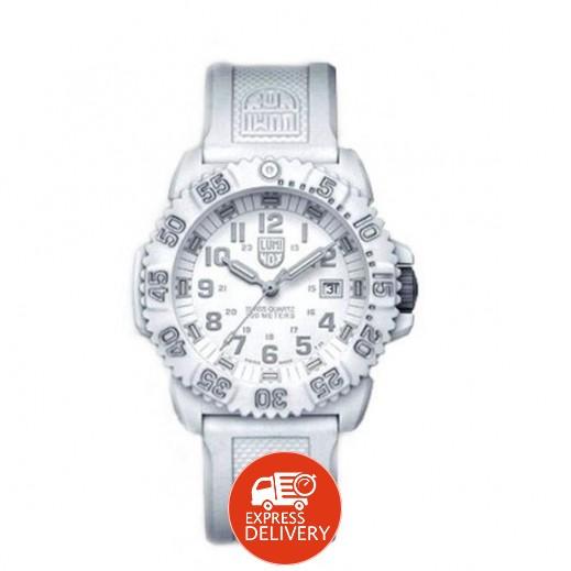 لومينوكس – ساعة يد تقنية الكوارتز السويسرية للرجال والسيدات إصدار A.3057.WO