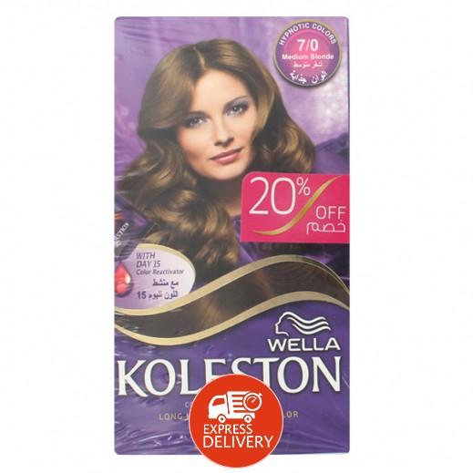 كولستون – كريم صبغ للشعر لون أشقر متوسط  غير لامع  307/0