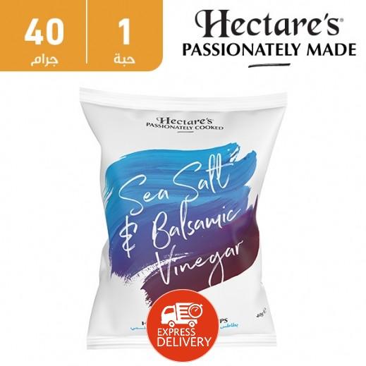 هيكترز - رقائق بطاطس بطعم الملح البحري والخل 40 جم