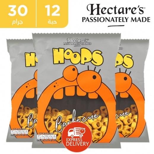 هيكترز - رقائق بطاطس خالية من الغلوتين بطعم الباربيكيو 12 × 30 جم