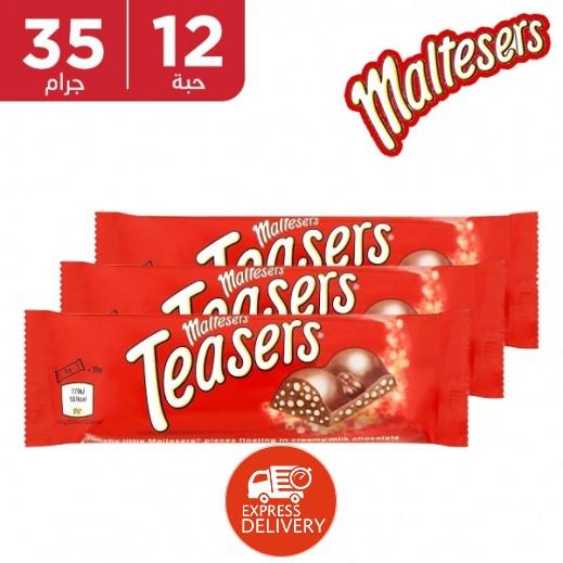 مالتيزر - ألواح شوكولاتة بالحليب 12 × 35 جم
