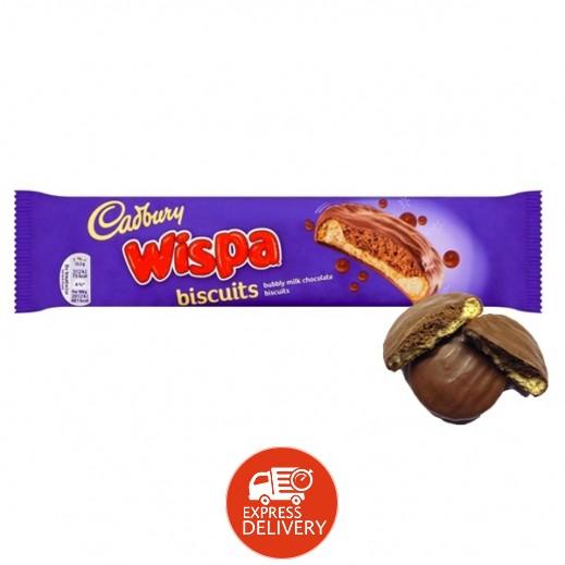 كادبوري - بسكويت ويسبا مغطى بالشوكولاتة 124 جم