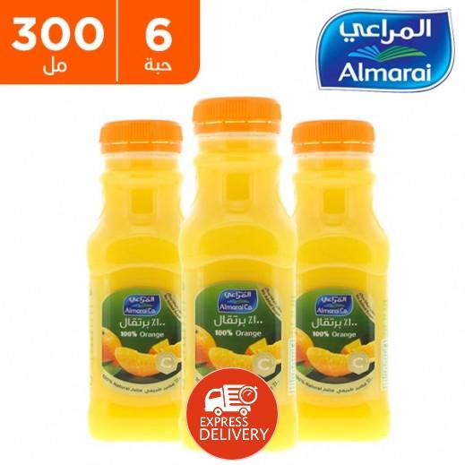 المراعي - عصير البرتقال 6 × 300 مل