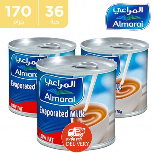 Almarai Evaporated Milk 36 x 170 g