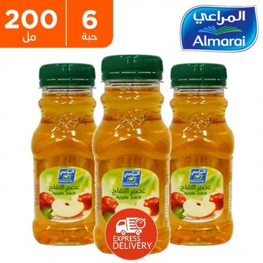 المراعي - عصير كوكتيل التفاح 6 × 200 مل