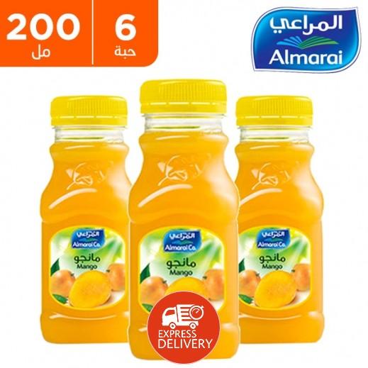 المراعي - عصير مانجو 6 × 200 مل