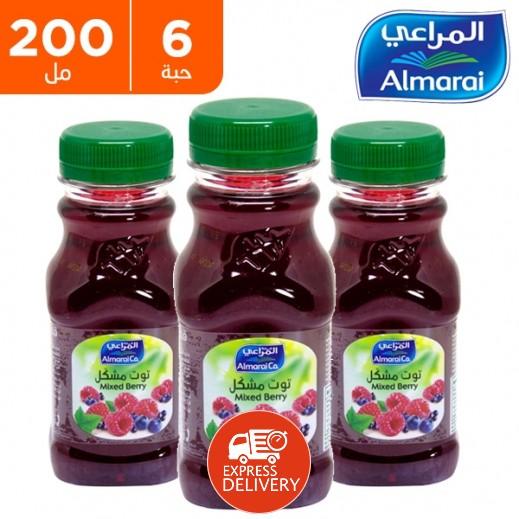 المراعي - عصير توت مشكل 6 × 200 مل