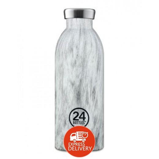24 بوتلز - زجاجه مشروبات كليما الحرارية - جبال الألب خشبي 500 مل