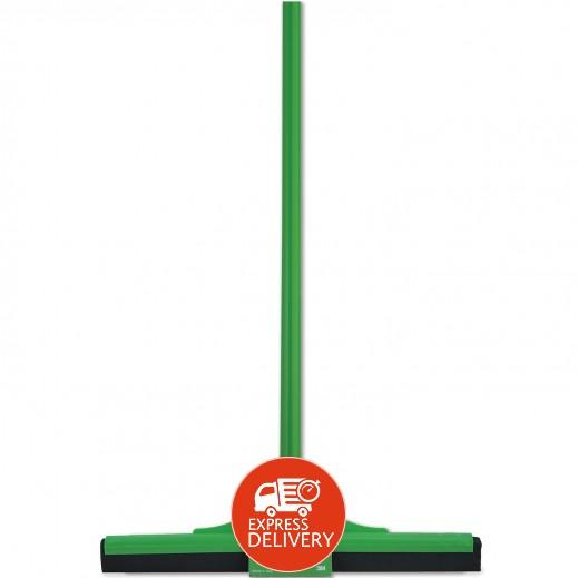 سكوتش برايت – ممسحة لتنظيف الأرض مع مقبض 44 سم