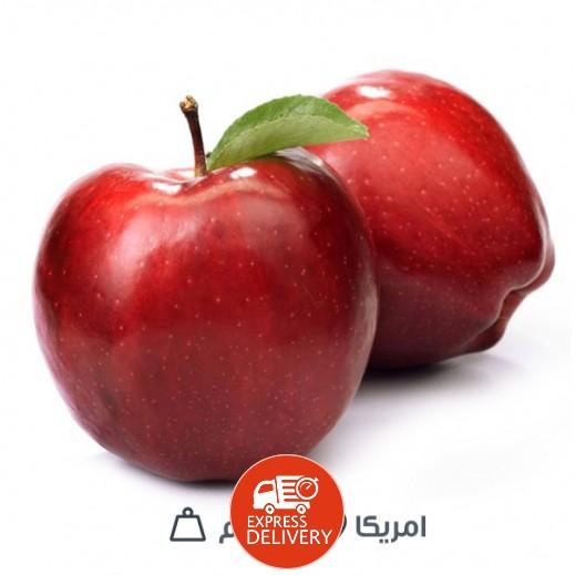 تفاح أحمر أمريكي - 1 كجم تقريبا