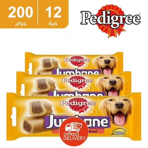 بيدجري - جمبون للكلاب المتوسطة 200 جم (12 حبة) - أسعار الجملة