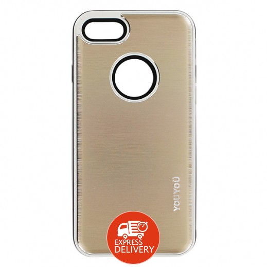 يويو – غطاء حماية خلفي لأي فون 7 – ذهبي