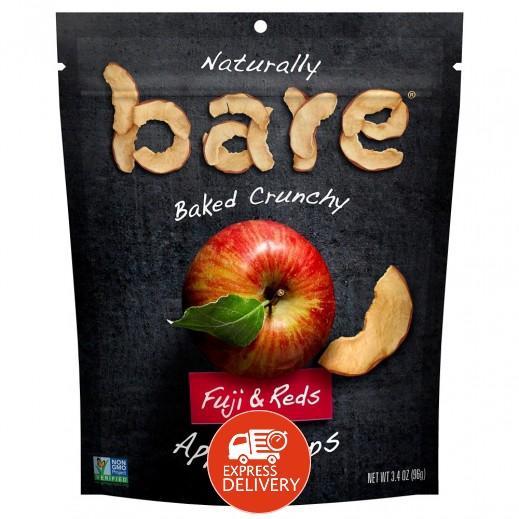 ناتشرالي - شيبس التفاح الأحمر المخبوز الطبيعي خالي من الجلوتين 96 جم