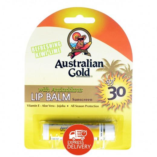 أستراليان جولد – بلسم شفاه SPF 30 للوقاية من أشعة الشمس 4.2 جرام