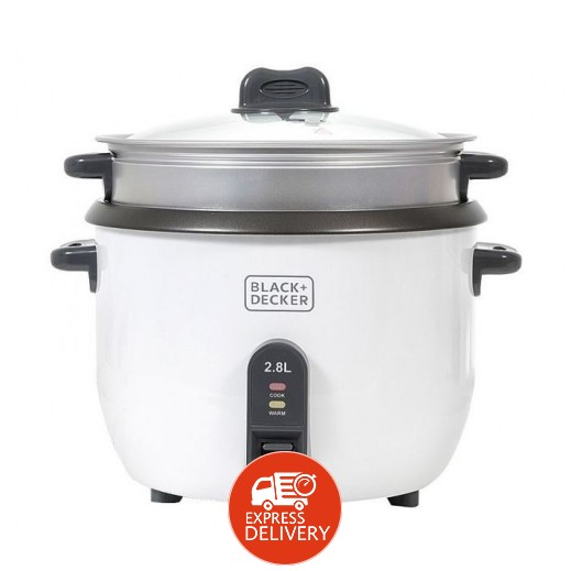 بلاك أند ديكر – طباخة الأرز 2.8 لتر