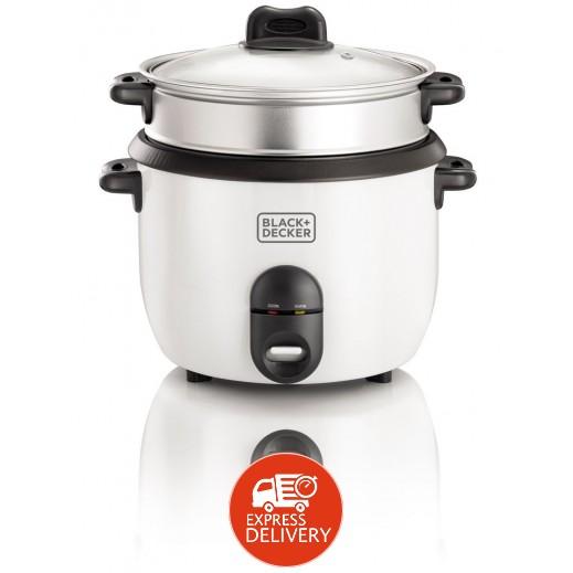 بلاك أند ديكر – طباخة الأرز 1.8 لتر