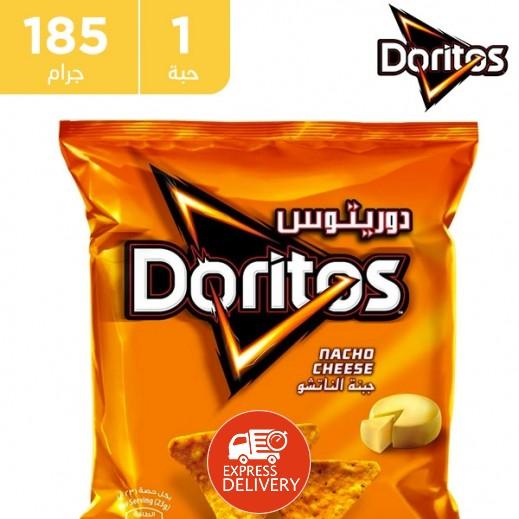 دوريتوس - رقائق الذرة بطعم الجبنة الناتشو 185 جم