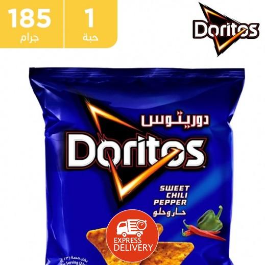دوريتوس - فلفل حلو وحار - 185 جم