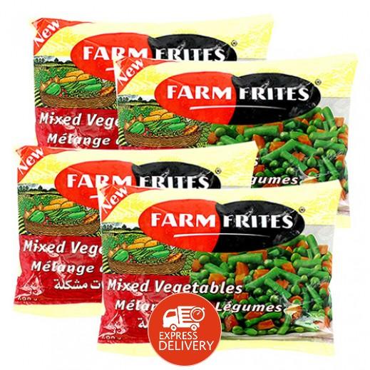 فارم فريتس - خضروات مشكلة مجمدة 4 حبة × 400 جم – أسعار الجملة