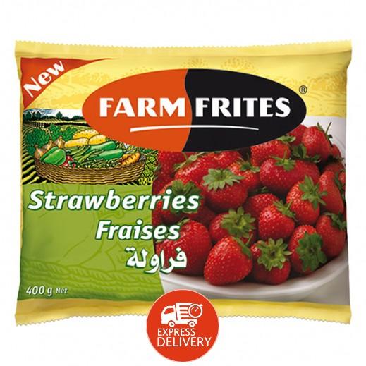 فارم فريتس - فراولة مجمدة 400 جم