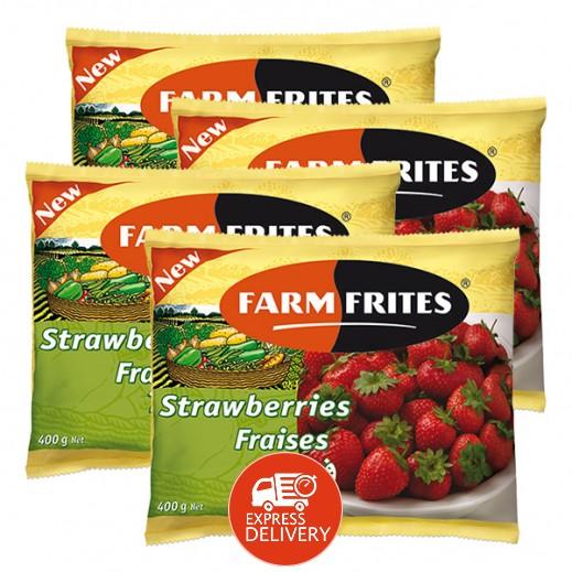 فارم فريتس - فراولة مجمدة 4 حبة × 400 جم – أسعار الجملة