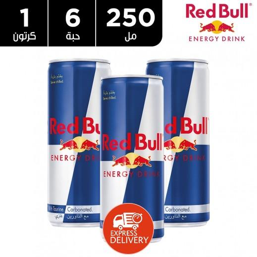 ريد بُل – مشروب الطاقة 6 حبة × 250 مل