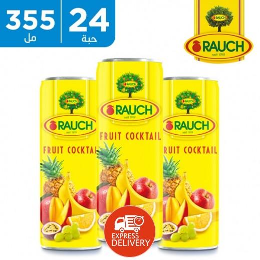 راوخ - عصير كوكتيل الفواكه 24 × 355 مل