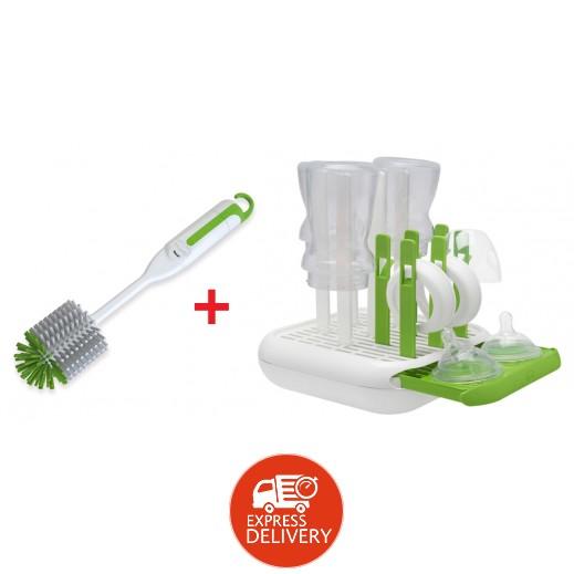 شيكو – صينية لتجفيف زجاجات الرضاعة وملحقاتها + فرشاة تنظيف زجاجة الرضاعة 3 × 1 مجانية (عرض خاص)