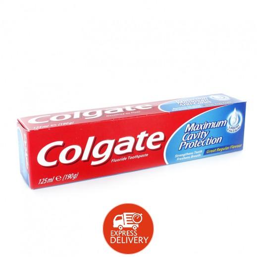 معجون الاسنان كولجيت - بالنكهة العادية 125 جم