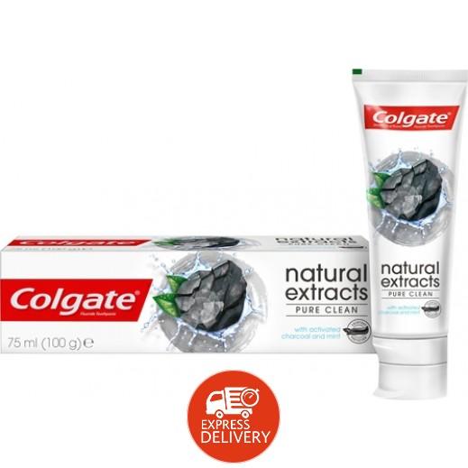 كولجيت - معجون أسنان للتنظيف بالفحم والنعناع 75 مل