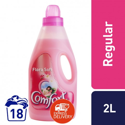 كومفورت – منعم الأقمشة الوردي 2 لتر