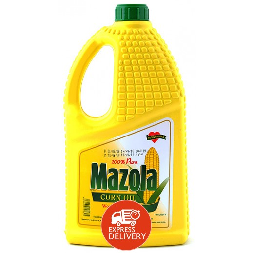مازولا - زيت الذرة الصافي 1.8 لتر