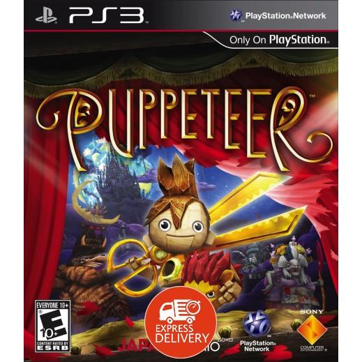 لعبة Puppeteer لبلاي ستيشن 3 - PAL