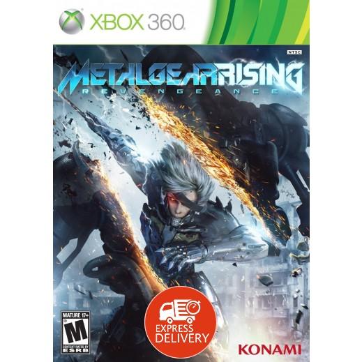 لعبة Metal Gear Raising Revengeance لإكس بوكس 360 - NTSC