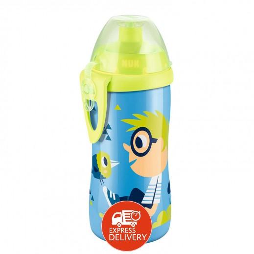 نَك – زجاجة إرضاع جونيور بسحب لأعلى خالية من مادة BPA مقاس 300 مل