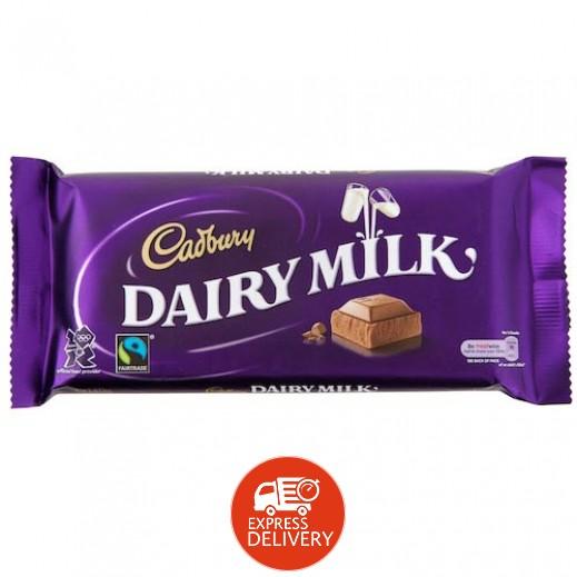 كادبوري - شوكولاته بالحليب 90 جرام