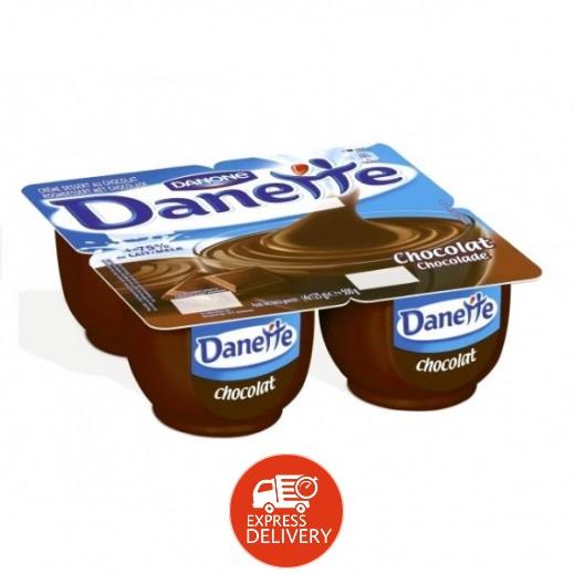 دانيت – حلوى بودنج بطعم الشوكولاتة 90 جم × 4 حبة