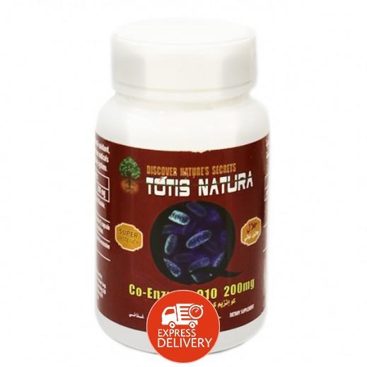 توتيس - الانزيم المساعد كيو 10 مكمل غذائي 30 كبسولة