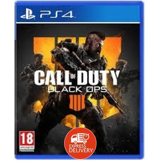 لعبة Call of Duty Black Ops 4 لبلاي ستيشن 4 – نظام PAL (عربي)