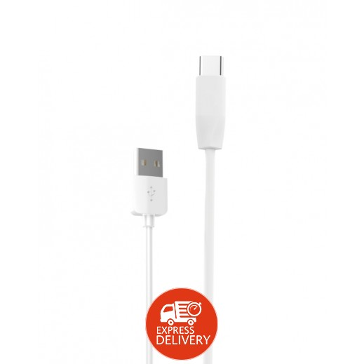 هوكو – كيبل USB Type-C بطول 1 متر – ابيض
