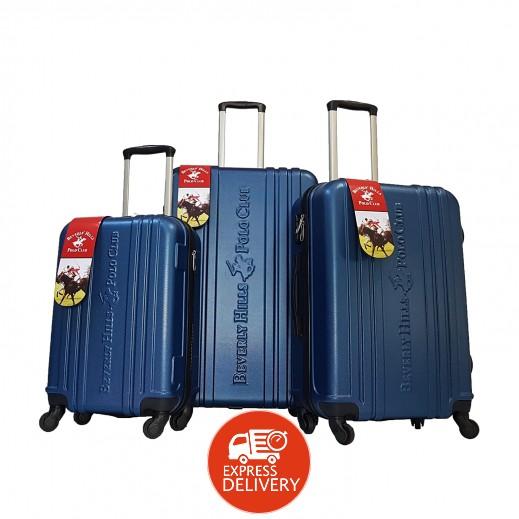 بولو - طقم حقائب سفر يونيتي 3 حبة - أزرق
