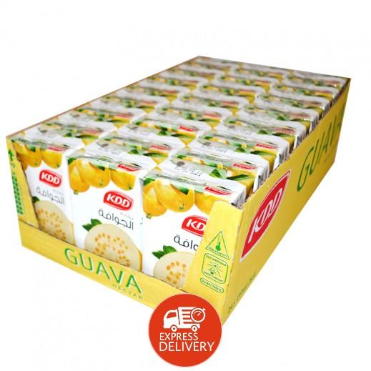 كى دى دى - عصير الجوافة نكتار 250 مل ( 24 حبة )
