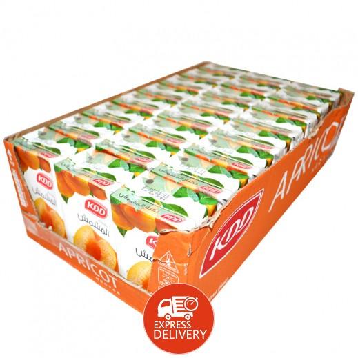 كى دى دى - عصير المشمش 250 مل ( 24 حبة )